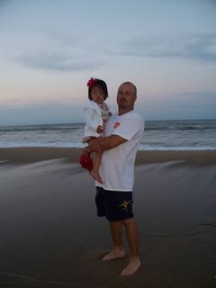 Daddy and alayna